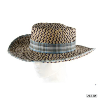 Atacado Popular Promocional dos homens Chapéus sombrero Mexicano  agricultores chapéus de palha 75c1b621340