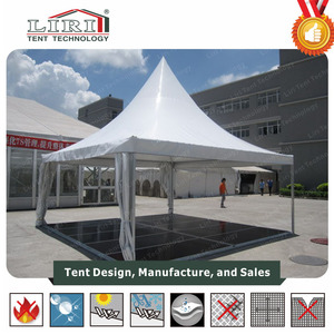 luxury big wedding canopy tent with floor in outdoor party for sale