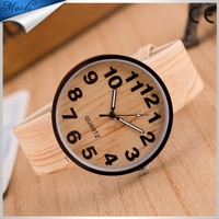Classical Bamboo Wooden Watch New Arrival Women High Quality Vintage Style Men Dress Watch Leather Quartz LW012