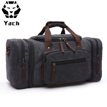 8ae092bb1ed Amazon popular designer large flight capacity men s canvas outdoor  travelling luggage duffle duffel weekend overnight bag