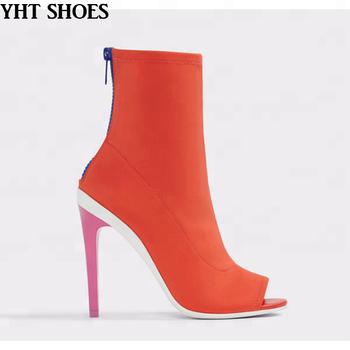 0de11df1633 2018 Women High Heel Ankle Boots Fashion Shoes - Buy Women ...