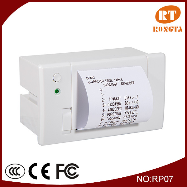 58mm thermal panel printer for bus ticketing machine RP07 Rongta.