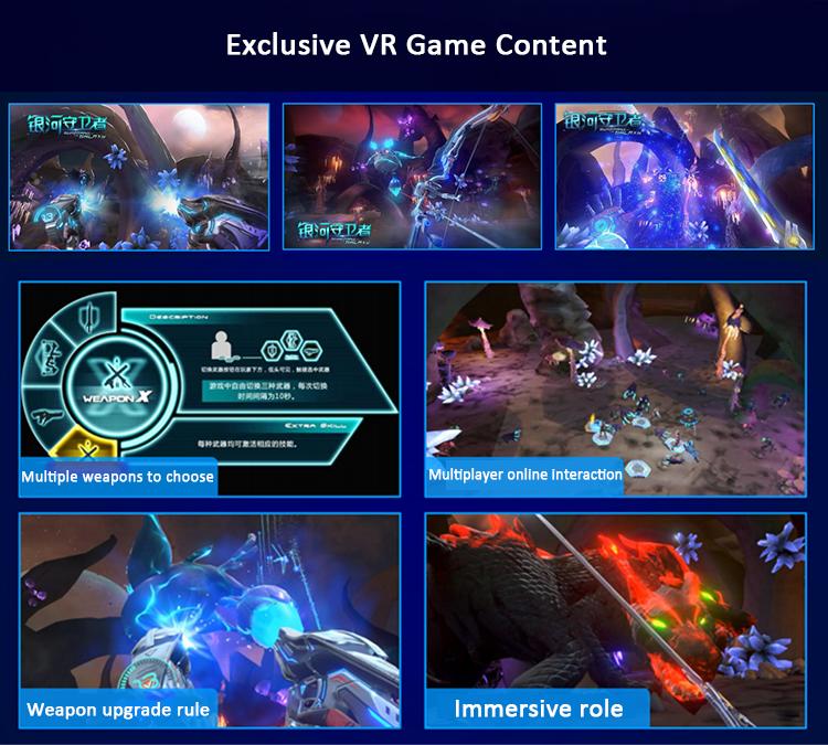 Franchise Opportunities Earn Money VR Playstation 9D Virtual Reality Platform VR Space Walker VR Theme Park Virtual Park