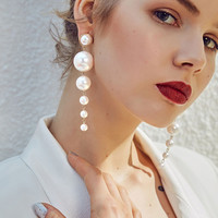 Fashion Statement Earrings 2019 Big Earrings For Women Hanging Dangle Earrings Drop Earing Jewelry