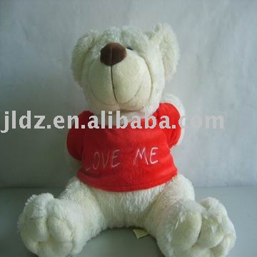 musical plush bear