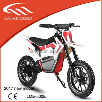 500w Strong Motor Dirtbike Electric Pit Bike Cross For