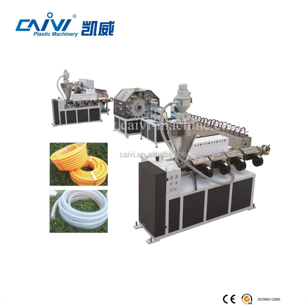 PVC Fiber Reinforced /Steel Reinforced Hose Making Machine