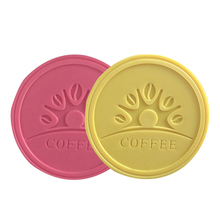 New Promotional Gifts Customized Heating Coaster /pvc Cup Mat