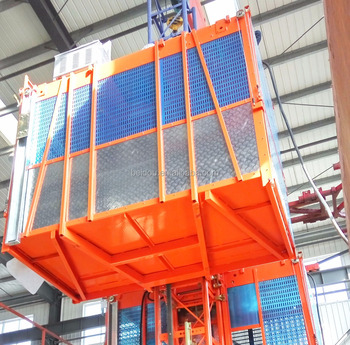 Homemade Passenger And Concrete Equipment Construction Hoist For Building /  Tower