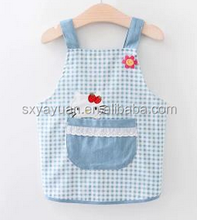 Custom Printed Clear PVC Plastic Waterproof Children Apron For Painting