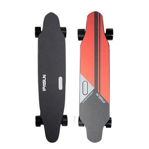 Nice price outdoor skateboard 1000w dual motor adult lightest electric skateboard