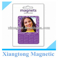Beautiful Purple Color Magnetic photo frame with Calendar