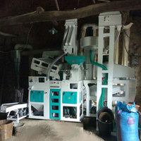 Paddy to rice process Thai fragrant rice milling machine