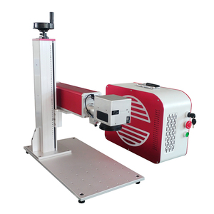 Mini CAS /Raycus/ IPG Fiber laser type 20w 30w 50w metal laser marking machine