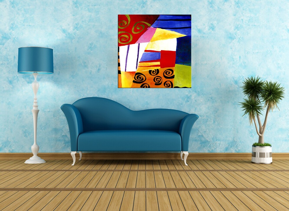 Home Decorative Cheap Indian Abstract Paintings