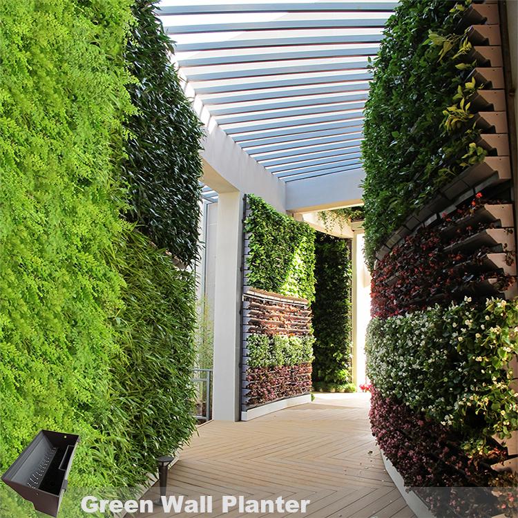 Vertical Garden Planters >> Vertical Garden Hanging Wall Planters Vertical Green Wall Garden Supplier In China Buy Vertical Hanging Garden Planter Vertical Garden Wall