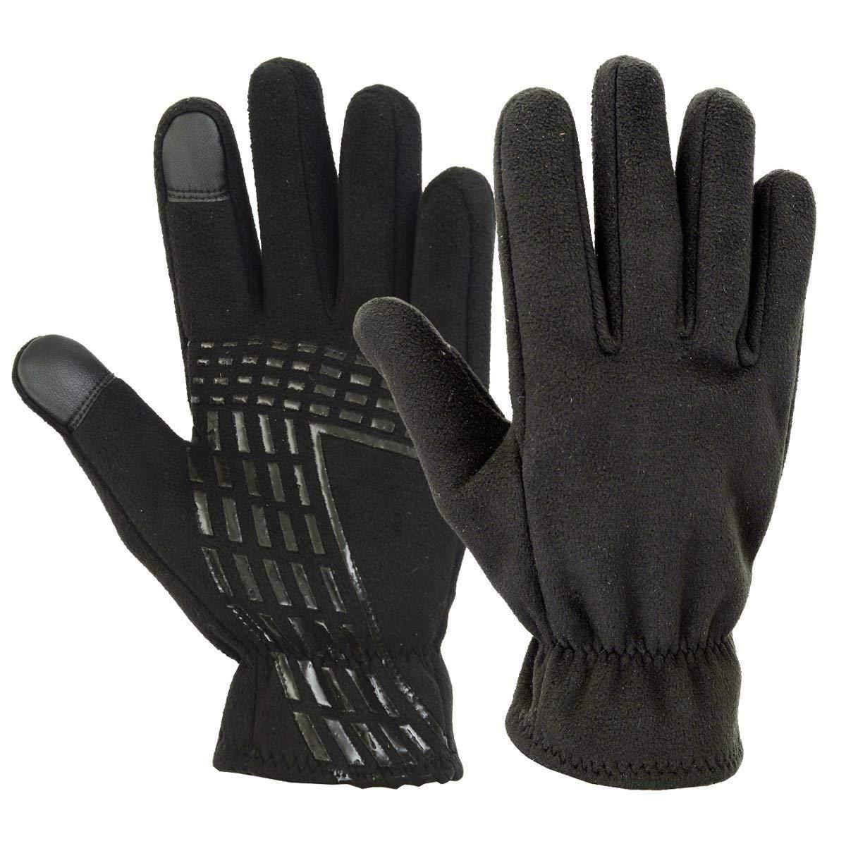 e0f105262 Get Quotations · SPG Men WINTER GLOVES Thick Fleece Warm Windproof Snow Ski  Motorbike Glove Black