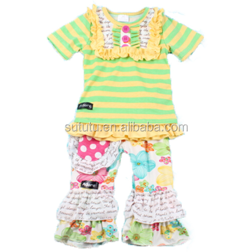 Made In China Boutique Children Outfits For Newest Toddler Girls Sleeveless  Outfits With Popular Design Southern 505c02cfb