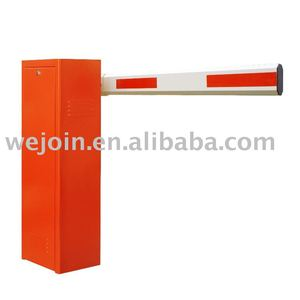 Automatic parking electronic vehicular barrier for toll station