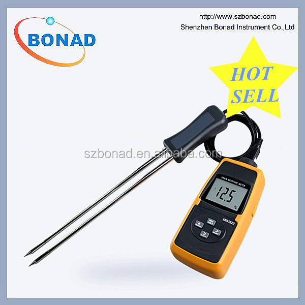 2017 hot sell! Grain Moisture Meter MD7822 quickly test the temperature and humidity