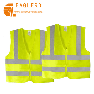 Hot sale High Visibility Conspicuity Warning Road safety reflective safety clothing vest