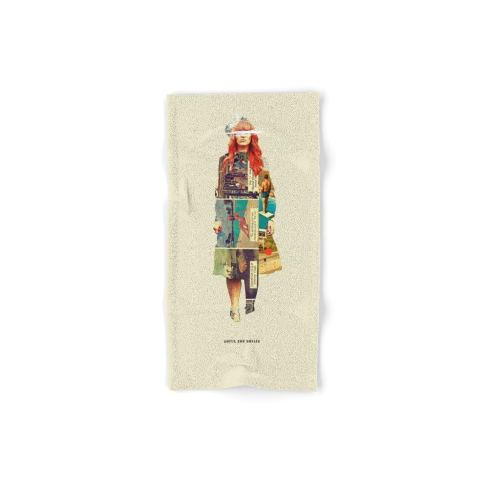Society6 Until She Smiles Set of 4 (2 hand towels, 2 bath towels)