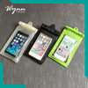 Press type mobile phone pvc waterproof bag cheap waterproof phone case