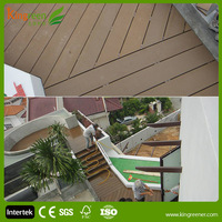 Kingreen Outdoor Eco Friendly Wood Plastic Composite Decking Laminate Floors