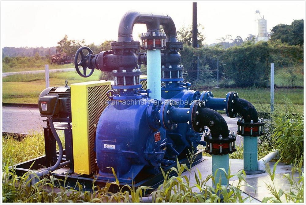 Diesel Engine Driven Large Industrial Self Priming