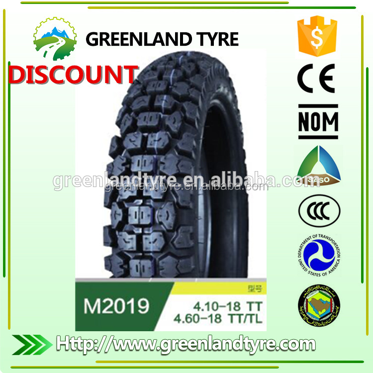 China New Pattern Used Tyres In South Korea Tubeless Motorcycle Tire 80 / 90 - 17