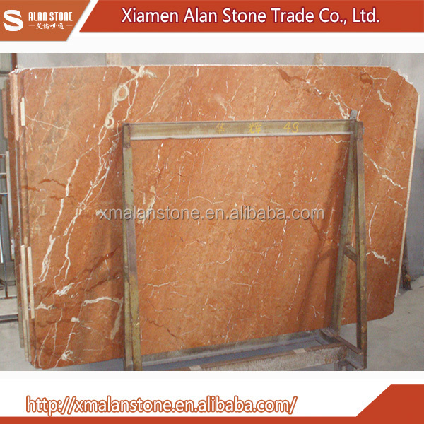 Latest Style High Quality rojo alicante marble slabs