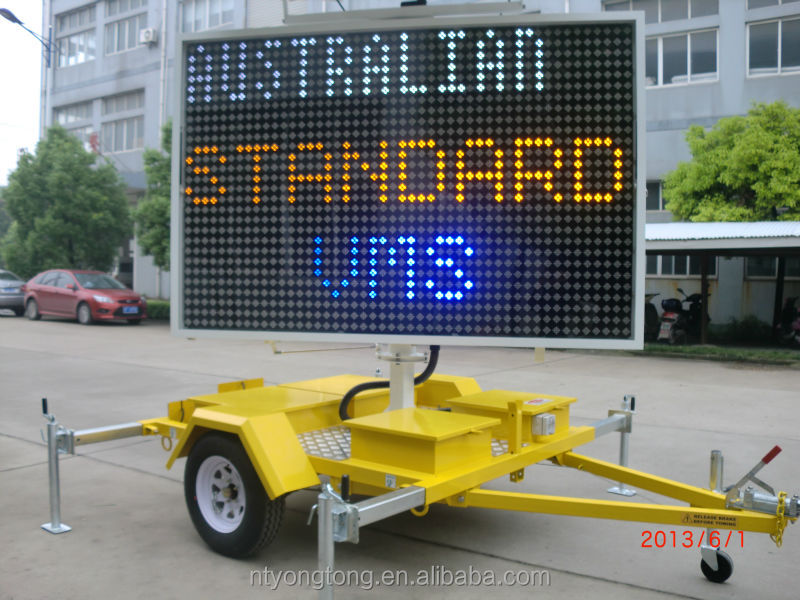 Portable 5 Color Variable Message Signs For Advertising