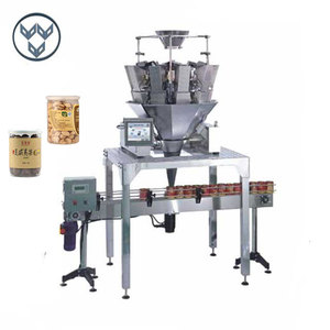 Automatic weigh filler jar packaging machine for can and bottle filling machine