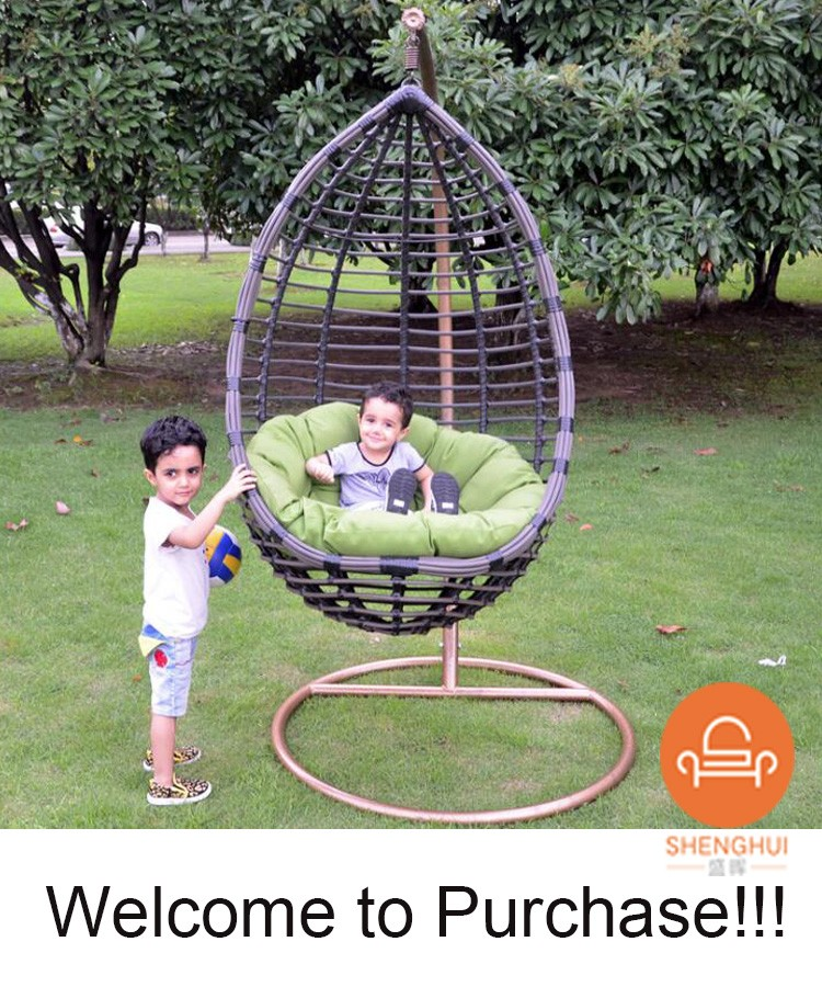 China Factory Cheap Indoor Outdoor Hanging Swing Kids Egg ...