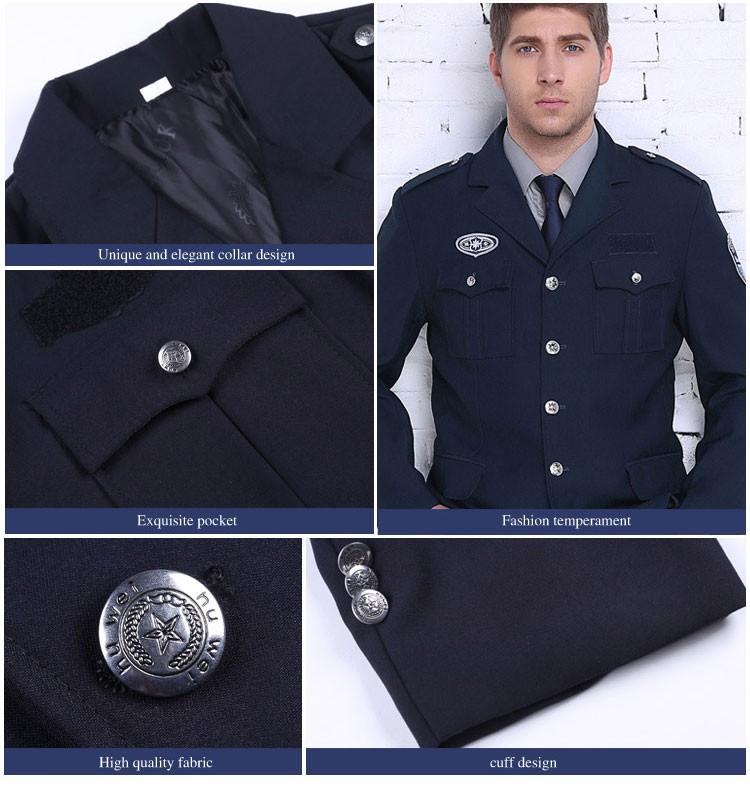 Custom Logo Security Guard Uniform Color