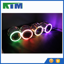KIM 2016 new automobile accessories 2.5'' mini hid projector lens angel eyes headlights