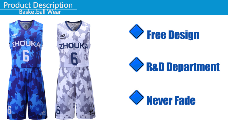 camo basketball uniform