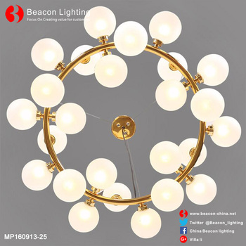 2017 New design glass chandelier sphere with great price
