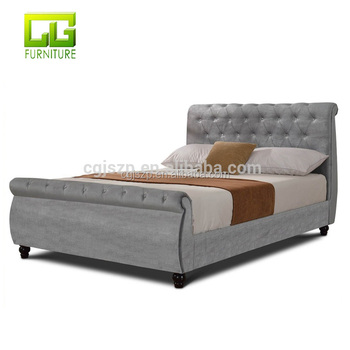 Divan Bed Base With Diamond Cube Floor Standing Headboard Double King Size Fabric For