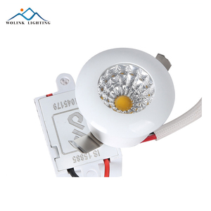 1w 3w 5w 7w dimmable 10 inch grille round led rgbw downlight