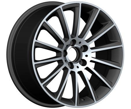 17 18 Inch Aluminium Amg Replica Alloy Wheels Mg Colour 5 Holes ...