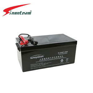 12V 250Ah Lead line Solar/ wind energy lead acid battery rechargeable sealed valve regulated deep cycle manufacturers