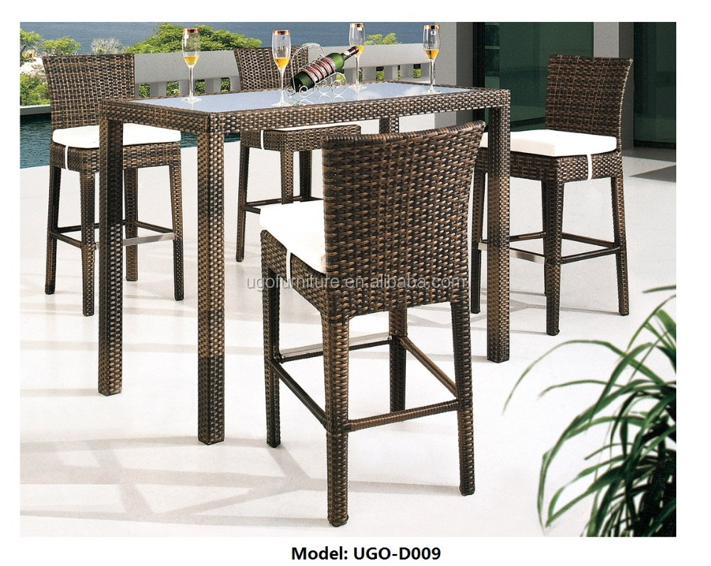 Wicker High Bar Tables, Wicker High Bar Tables Suppliers And Manufacturers  At Alibaba.com