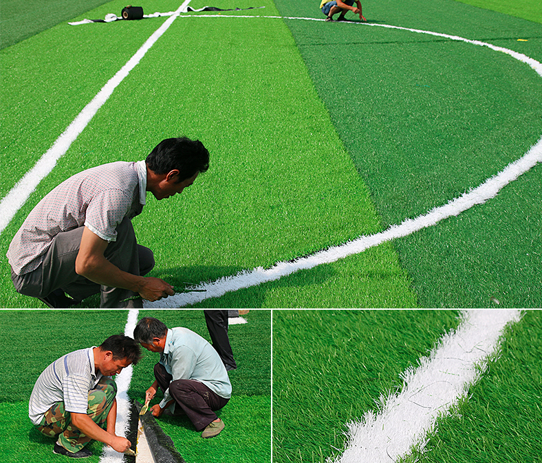 Hot sale landscape waterproof mini football field artificial grass