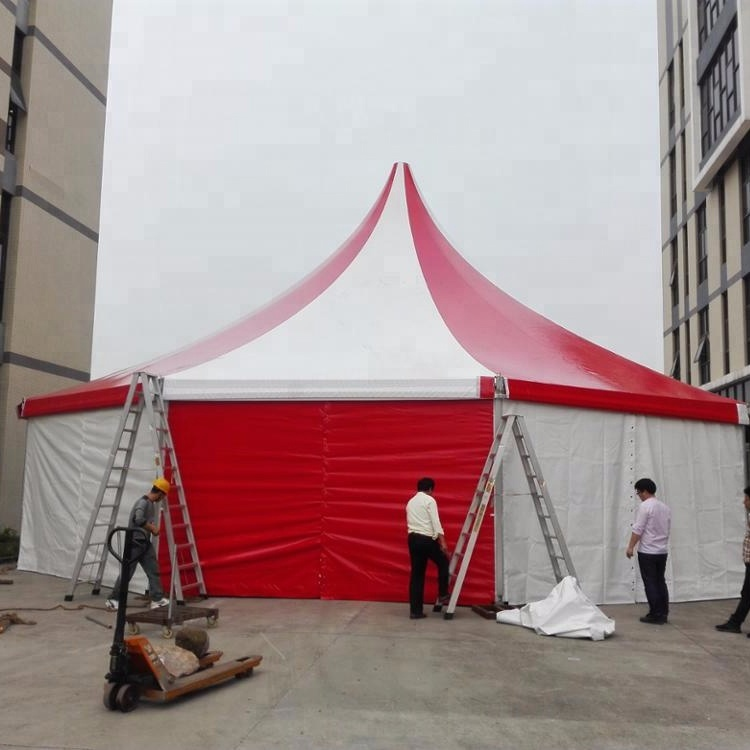 High Quality Large Outdoor Marquee Tents Clear Span Decagon Circus Tent For Events