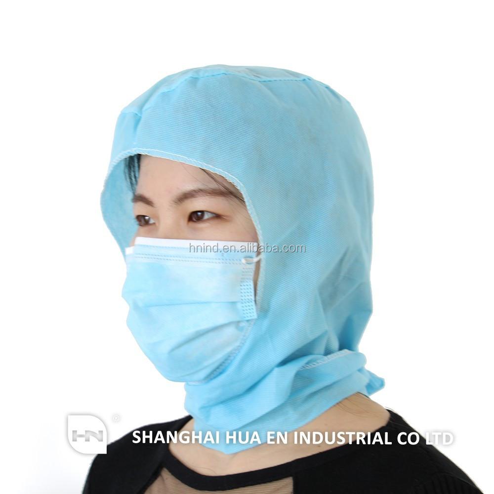 7a6066c29f6 Medical Disposable Nonwoven Space Cap surgical Hood astronauts Cap ...
