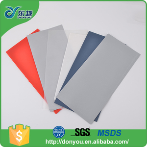 Hot selling eco-friendly durable PU thin silicone rubber sheet