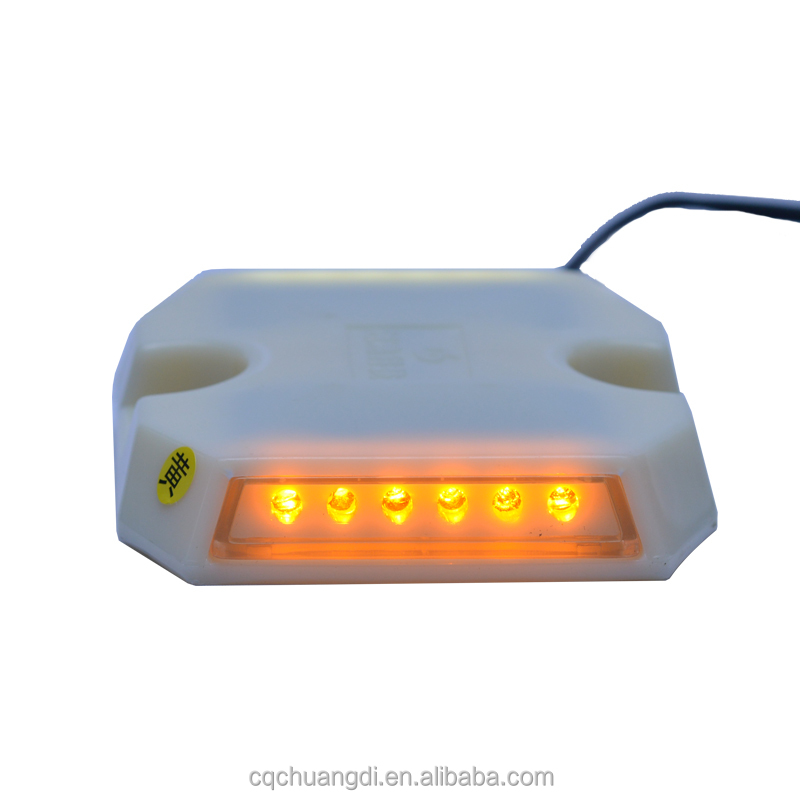 3m LED solar cat eyes wired road stud