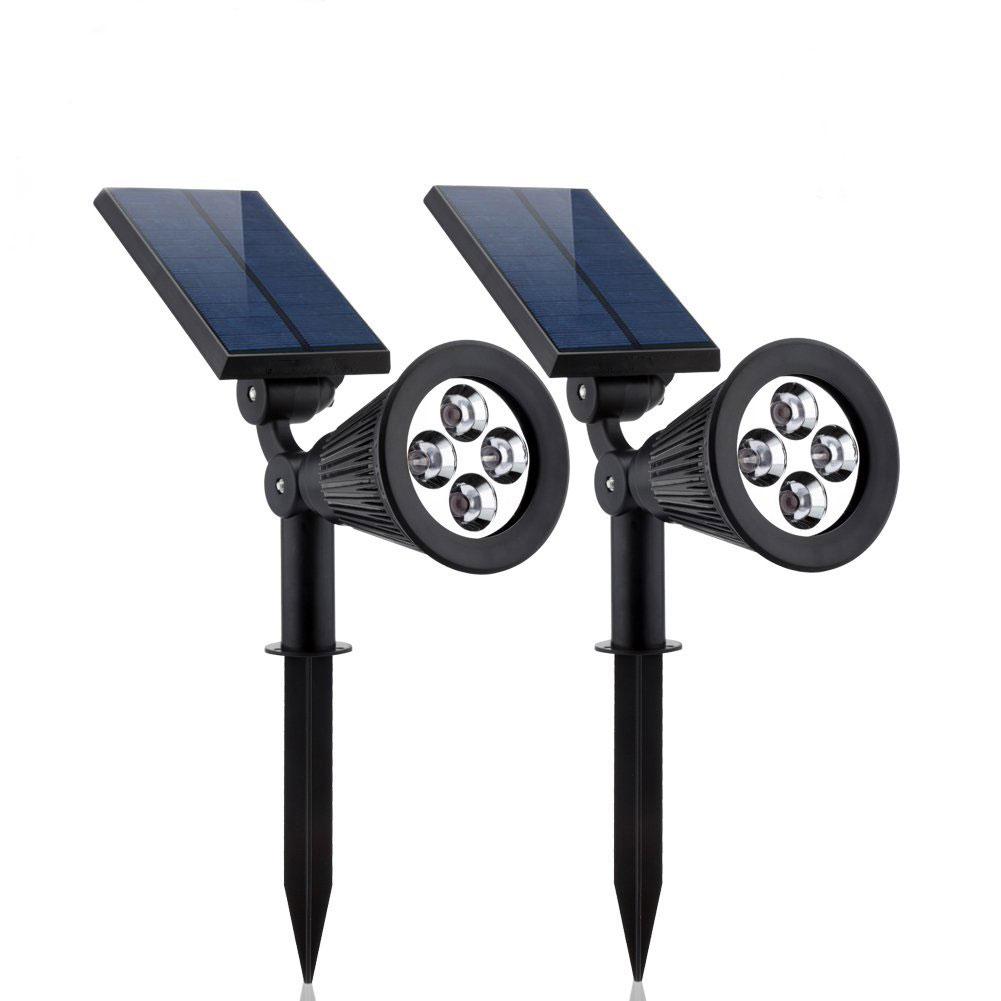 Solar Spotlightssolar Lights 2 In 1 Adjustable Solar Garden Light
