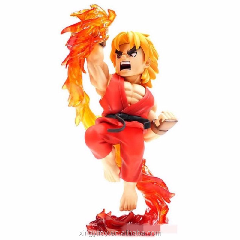Japan Game Figure T N C 002 Street Fighter Ken Masters